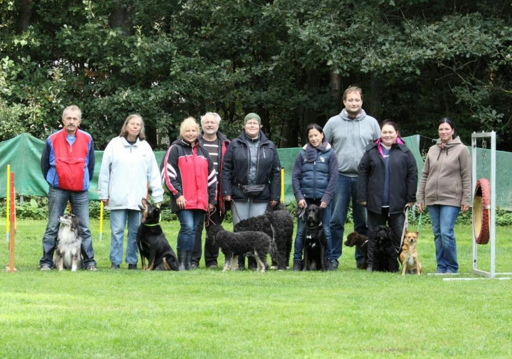 Unser Agility-Lehrgang